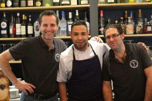 L'équipe du restaurant Le Tabagnon